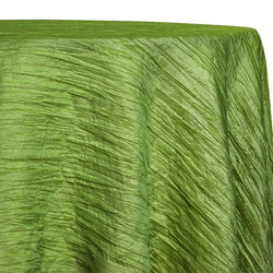 Accordion Taffeta Table Linen in Green