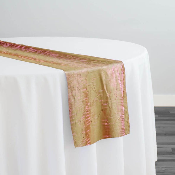 Crush Shimmer (Galaxy) Table Runner in Green Pink 23