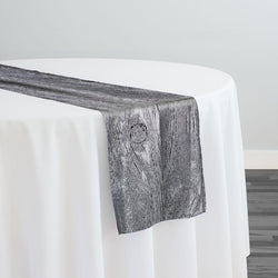 Sahara Jacquard Table Runner in Grey