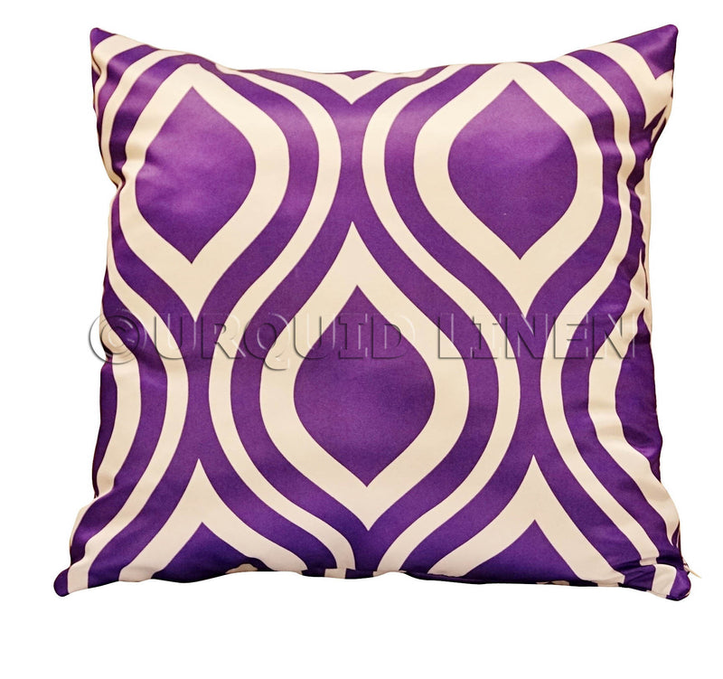 Groovy Lamour (Print) Throw Pillow