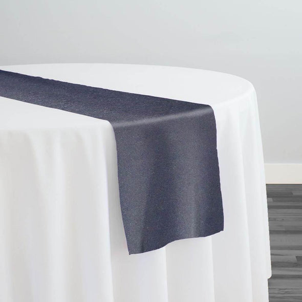 Scuba (Wrinkle-Free) Table Runner in Gun Metal 108