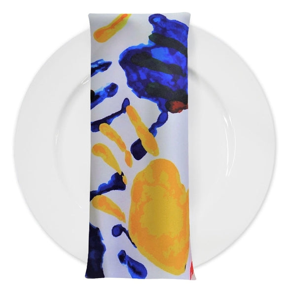Happy Hands (Poly Print) Table Napkin
