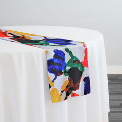 Happy Hands (Poly Print) Table Runner