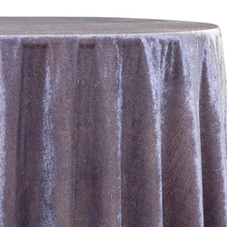 Lush Velvet Table Linen in Heather