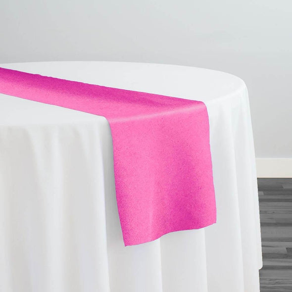 Premium Polyester (Poplin) Table Runner in Hot Pink 1195