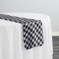 Abstract (Pucci) Table Runner in Houndstooth