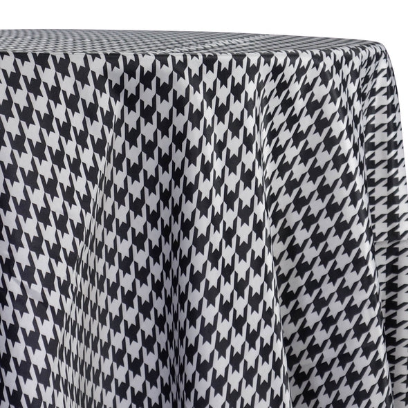 Abstract (Pucci) Table Linen in Houndstooth