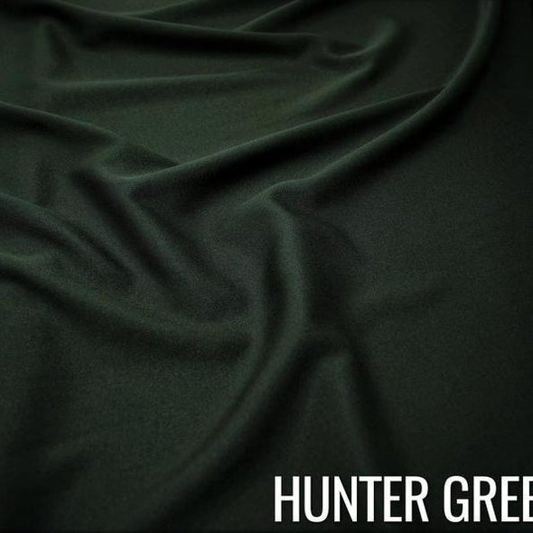 Scuba (Wrinkle-Free) Table Runner in Hunter Green 141