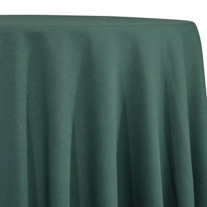 Hunter Green Tablecloth in Polyester for Weddings