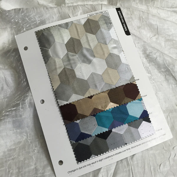 Metro Jacquard Color Card