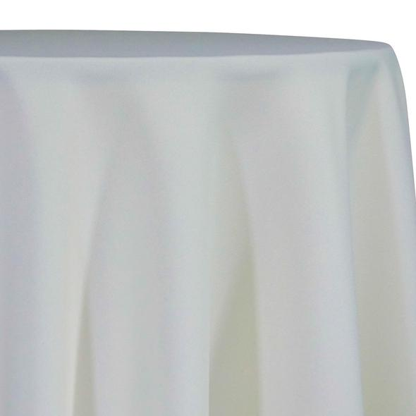 Ivory Tablecloth in Polyester for Weddings