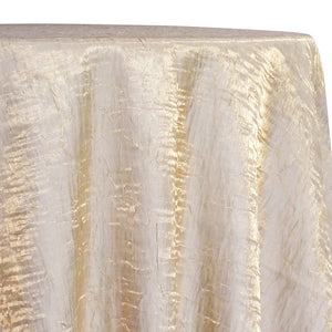 Crush Shimmer (Galaxy) Table Linen in Ivory 18