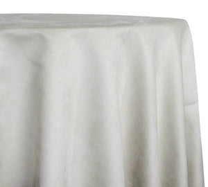 Microfiber Suede Table Linen in Ivory