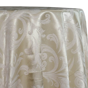 Regal Jacquard (Reversible) Table Linen in Ivory