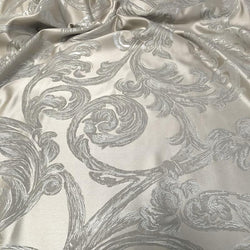 Florence Jacquard Table Linen in Ivory