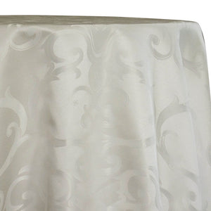 Chopin Jacquard Table Linen in Ivory