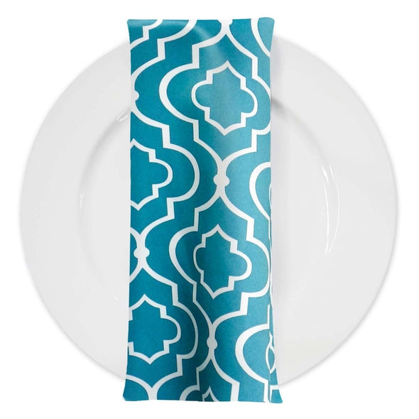Gatsby Print (Lamour) Table Napkin in Jade