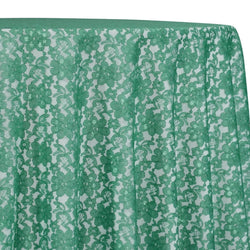 Classic Lace Table Linen in Jade 2000