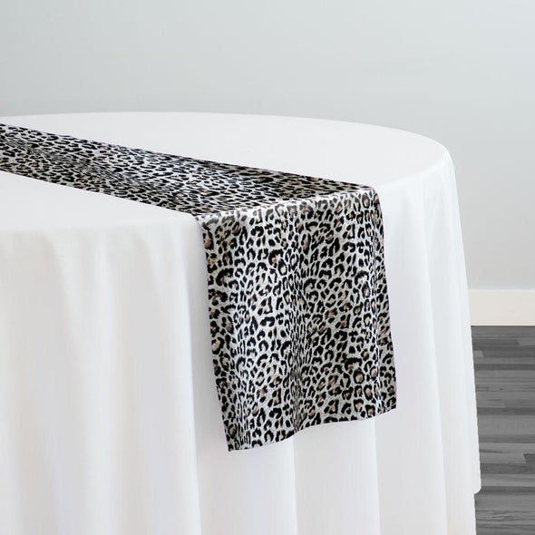 Animal Print Table Runner in Jaguar