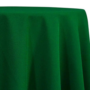Emerald Green Tablecloth in Polyester for Weddings