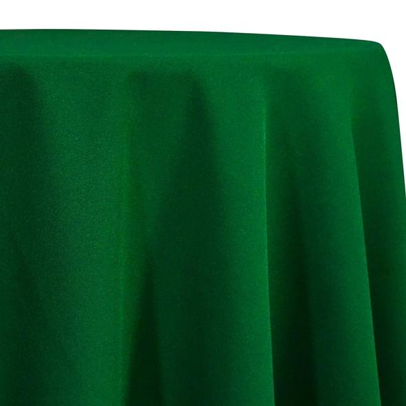 Kelly Green Tablecloth in Polyester for Weddings