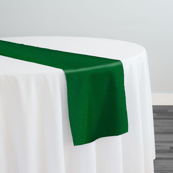 Premium Polyester (Poplin) Table Runner in Kelly Green 1260