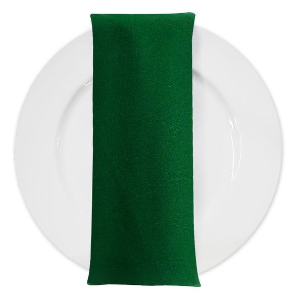Premium Polyester (Poplin) Table Napkin in Kelly Green 1260