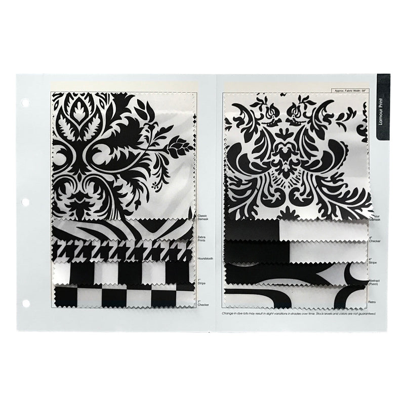 Lamour Prints Table Runner in Damask