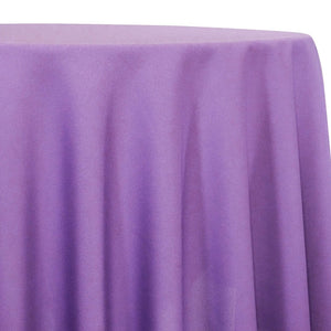 Lamour (Dull) Satin Table Linen in Lavender 1172