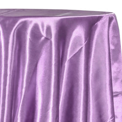 Bridal Satin Table Linen in Lavender 468