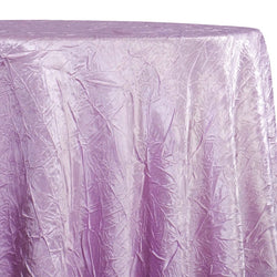 Crush Satin (Bichon) Table Linen in Lavender 468
