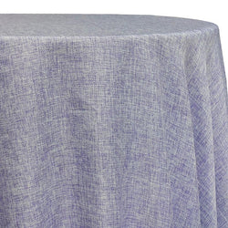 Imitation Burlap (100% Polyester) Table Linen in Lavender