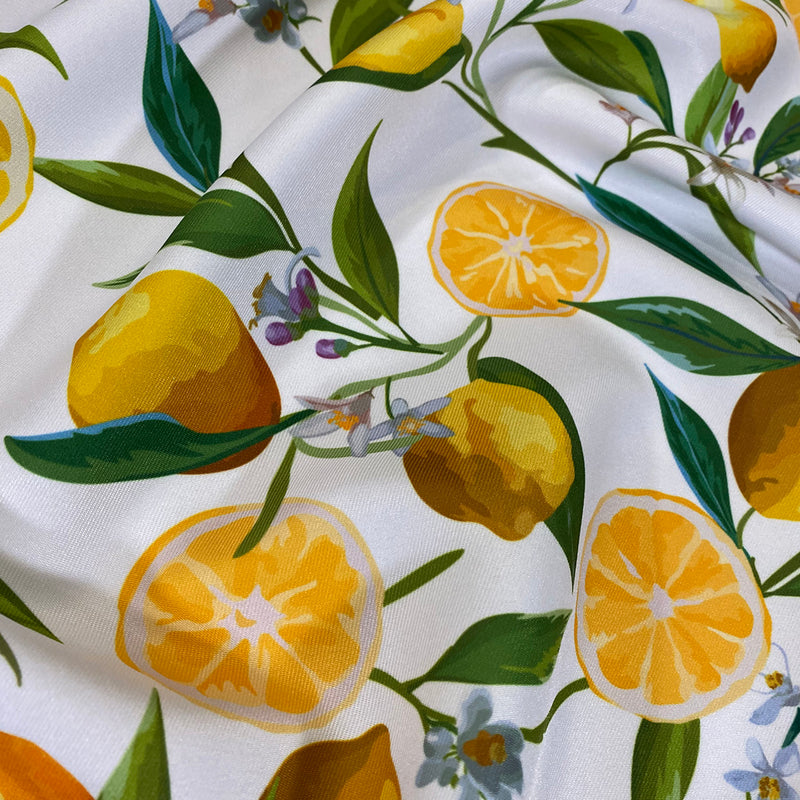 Lemon (Poly Print) Table Runner