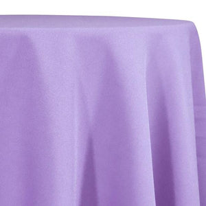 Lilac Tablecloth in Polyester for Weddings