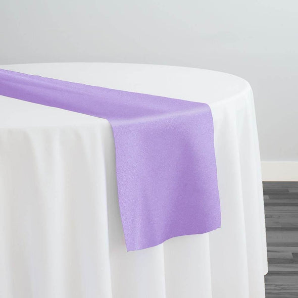 Premium Polyester (Poplin) Table Runner in Lilac 1172