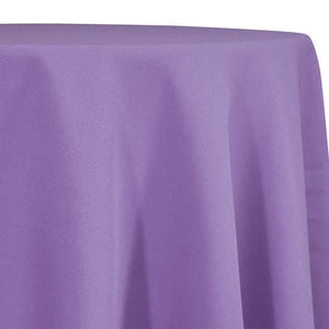 Lavender Tablecloth in Polyester for Weddings
