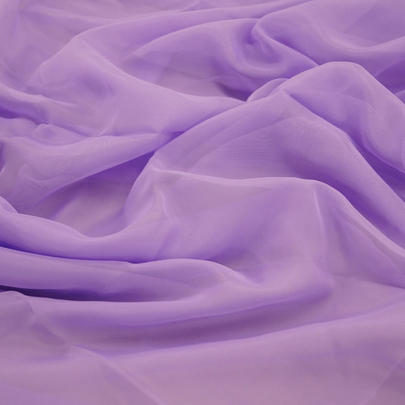Voile Wholesale Fabric in Lilac 1174