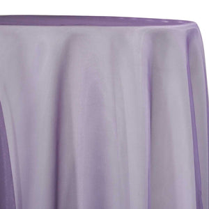 Crystal Organza Table Linen in Lilac 410
