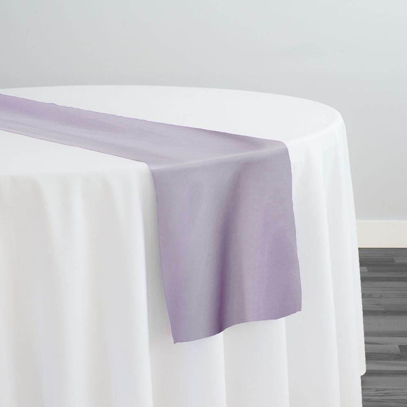 Crystal Organza Table Runner in Lilac D 450
