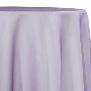 Crystal Organza Table Linen in Lilac D 450