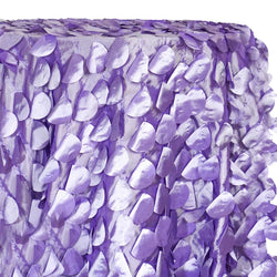 Funzie (Circle Hanging) Taffeta Table Linen in Lilac