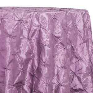 Belly Button (Pinwheel) Table Linen in Lilac