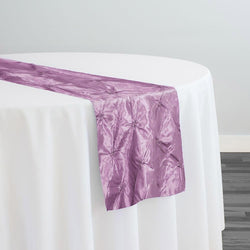 Belly Button (Pinwheel) Table Runner in Lilac