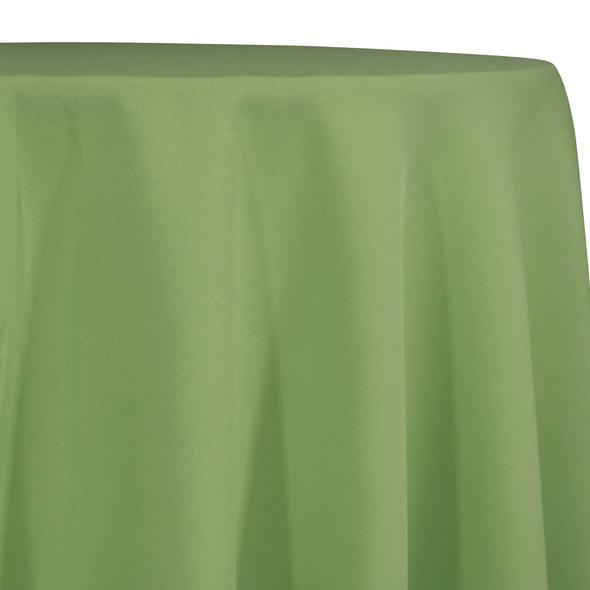 Willow Green Tablecloth in Polyester for Weddings