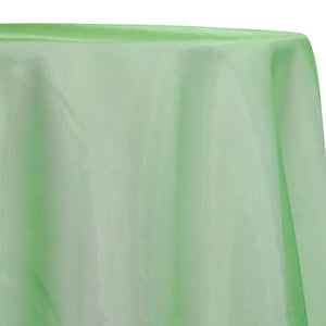 Crystal Organza Table Linen in Lime 993