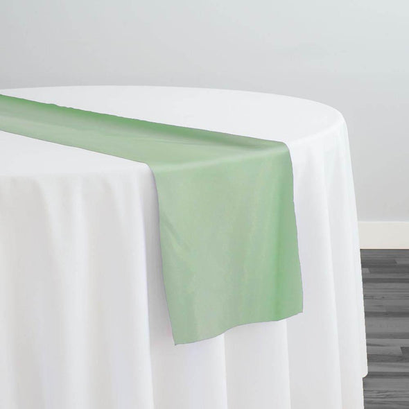 Crystal Organza Table Runner in Lime 993