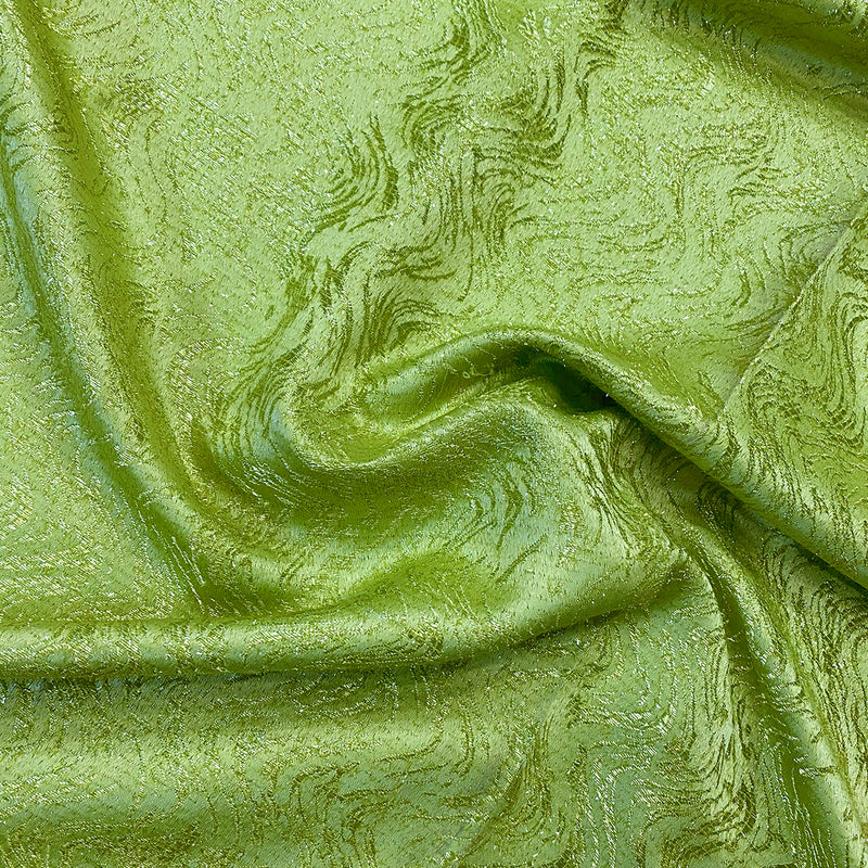 Twinkle Tensil Table Runner in Lime