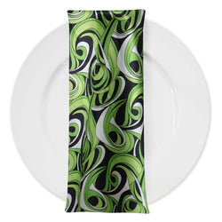 Abstract (Pucci) Table Napkin in Limey