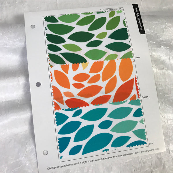 Locus Leaf Color Card