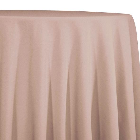 Nude Tablecloth in Polyester for Weddings